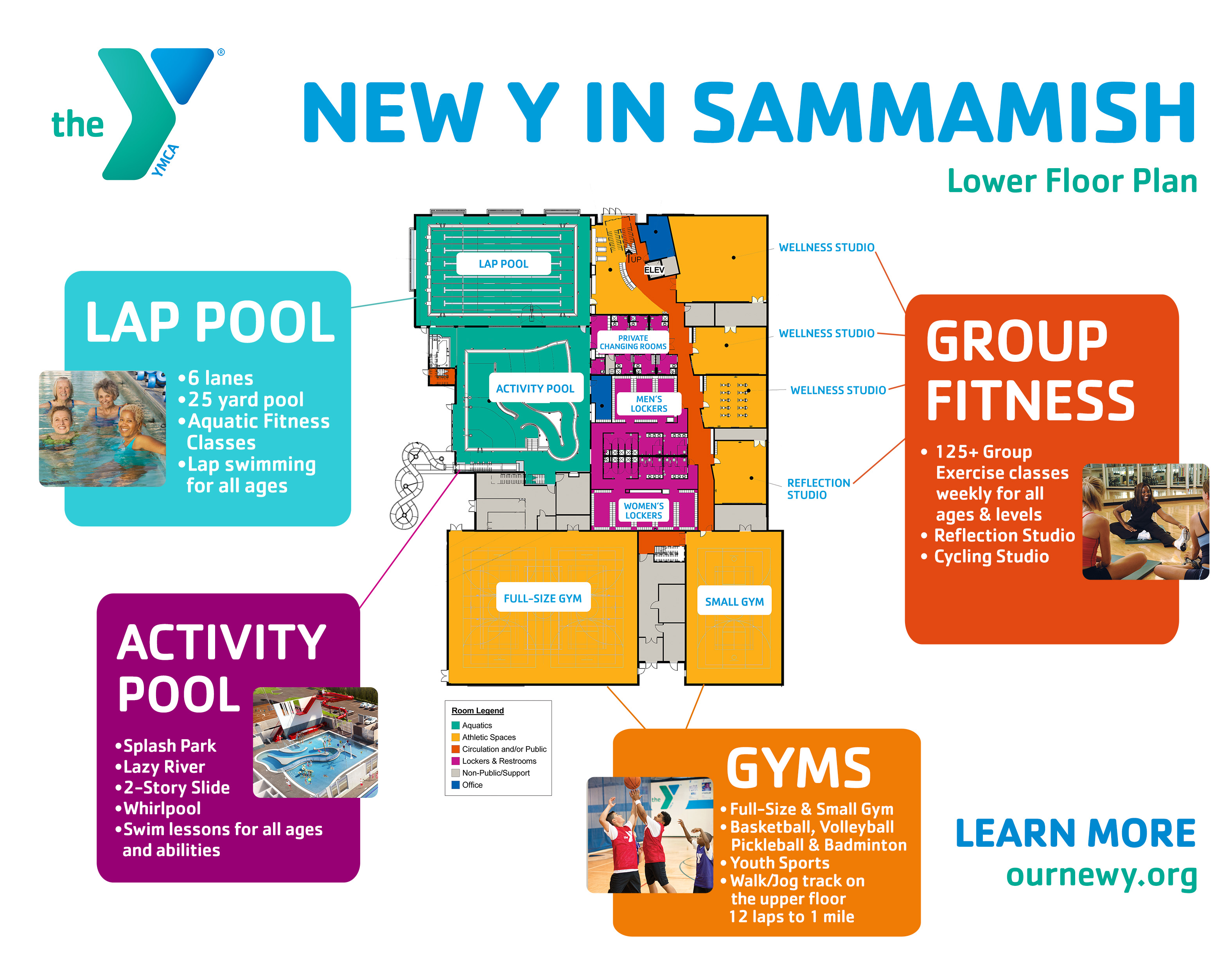 see the floor plans sammamish community ymca information
