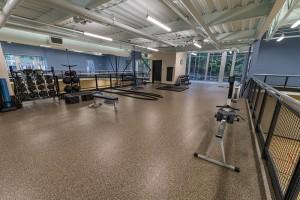 Upstairs Fitness Loft Above Gymnasiums