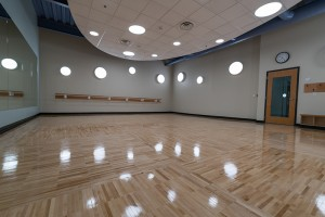 Reflection Room for Yoga, Pilates and Barre Classes