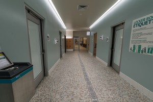 Six Private Changing Rooms Available