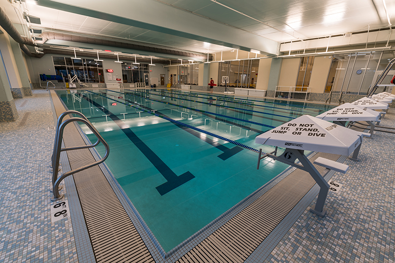 Six Lane Lap Pool
