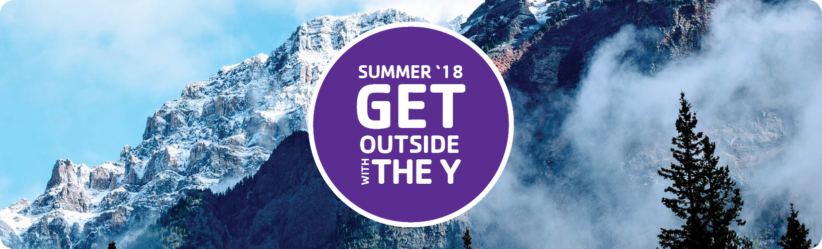 Get Outside With The Y Banner
