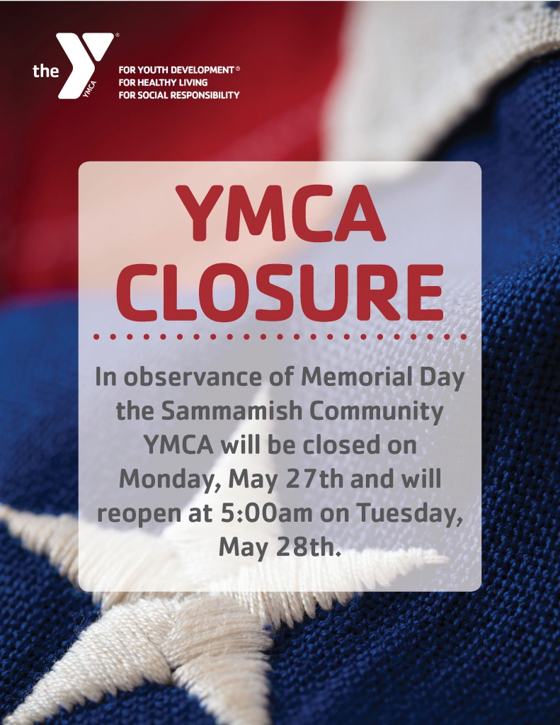 Memorial Day Closure